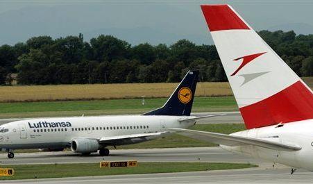 DEU Luftverkehr Lufthansa AUA (Foto)