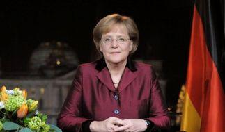 DEU Neujahrsansprache Merkel (Foto)