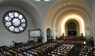 DEU NS Zeit Jahrestag Pogromnacht Synagogen (Foto)