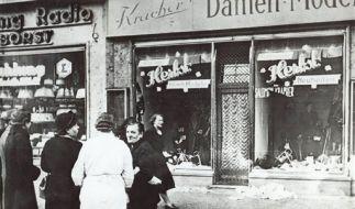 DEU NS Zeit Jahrestag Pogromnacht (Foto)