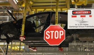 DEU USA Autoindustrie Opel (Foto)