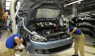 DEU Volkswagen Hauptversammlung Arbeitsplaetze (Foto)