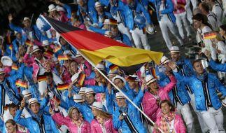 Deutsche Athleten: Gänsehaut nach Eröffnungsfeier (Foto)