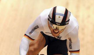 Deutsche Bahnradfahrer gewinnen Olympia-Test (Foto)