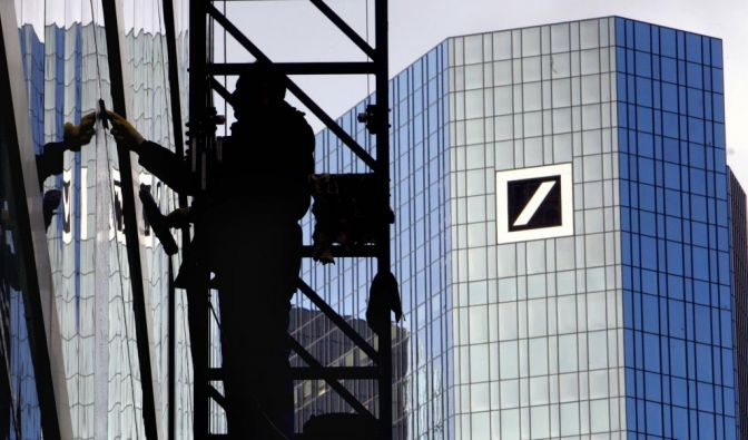 Deutsche Bank sponsert Unis (Foto)