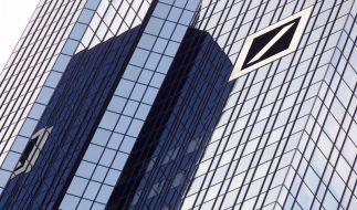 Deutsche Bankunter Beschuss (Foto)