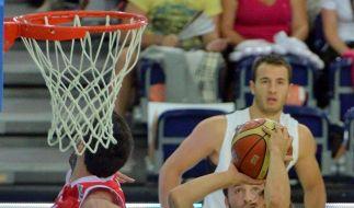 Deutsche Basketballer gewinnen 68:57 gegen Georgien (Foto)