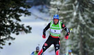 Deutsche Biathleten verpassen WM-Podest - Bö siegt (Foto)