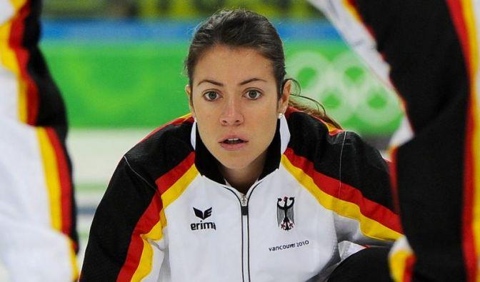 Deutsche Curling-Frauen feiern dritten WM-Sieg (Foto)