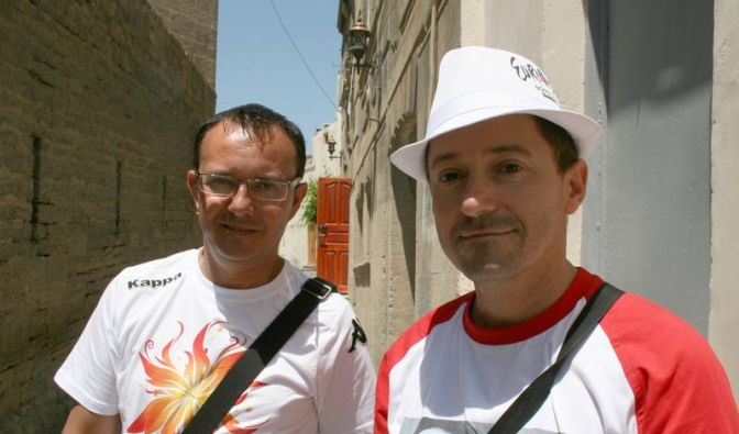 Deutsche Fans wenig begeistert von Grand Prix in Baku (Foto)