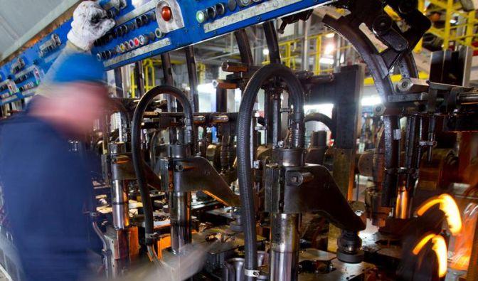 Deutsche Firmen drosseln Produktion (Foto)