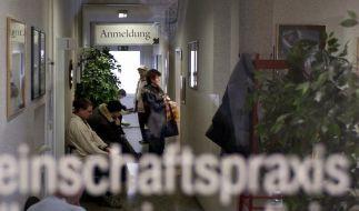 Deutsche gehen besonders häufig zum Arzt (Foto)