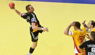 Deutsche Handballer wieder im Olympia-Rennen (Foto)