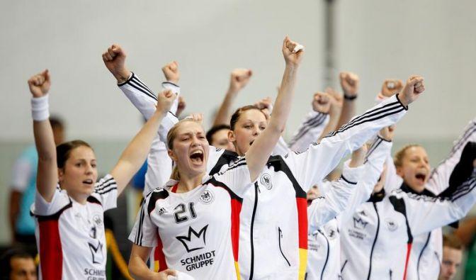 Deutsche Handballerinnen schaffen EM-Qualifikation (Foto)