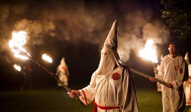 Deutsche Polizisten waren Mitglieder im Ku-Klux-Klan (Foto)