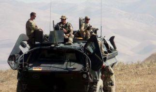 Deutsche Soldaten in Afghanistan. (Foto)
