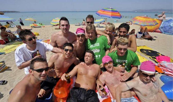Deutsche im Urlaub? Da fällt einem sofort der Ballermann auf Mallorca ein. (Foto)