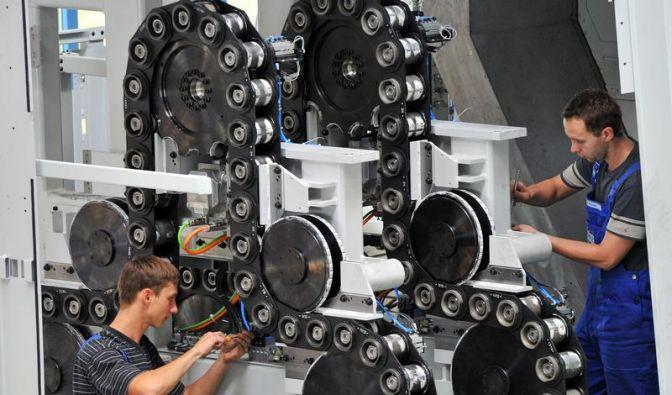 Deutsche Wirtschaft legt einen Zwischenstopp ein (Foto)