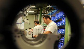 Deutscher Maschinenbau setzt Aufholjagd fort (Foto)