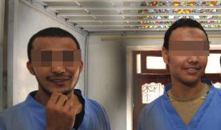 Deutscher Terrorverdächtiger in Jemen vor Gericht (Foto)