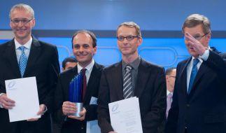 Deutscher Zukunftspreis geht nach Sachsen (Foto)