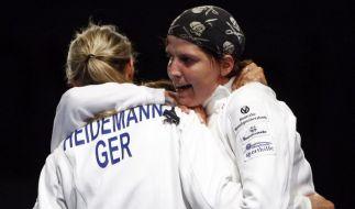 Deutsches Damen-Degen-Team bucht Olympia-Ticket (Foto)