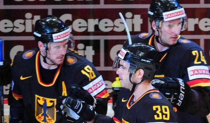 Deutsches Eishockey-Team wahrt Viertelfinal-Chance (Foto)