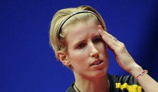 Deutsches Tischtennis-Doppel verliert Finale (Foto)