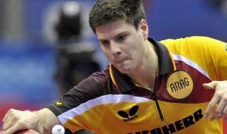 Deutsches Tischtennis-Duo gescheitert (Foto)
