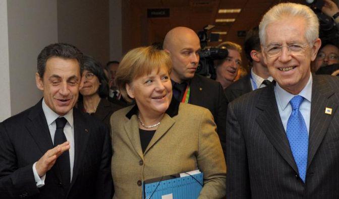 Deutschland feiert Gipfel-Kompromiss zu Sparpakt. (Foto)