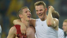 Deutschland setzte bei der Fußball-EM 2012 gegen Portugal auf eine neue Taktik. (Foto)