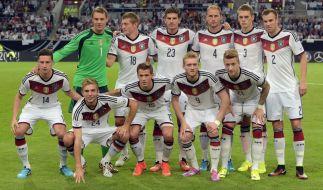 Deutschland traf in der EM-Qualifikation 2016 auf Georgien. (Foto)