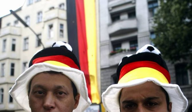 Deutschlandflagge (Foto)