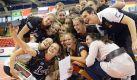 Deutschlands Volleyballerinnen hatten bei der WM 2014 in Italien nicht viel zu jubeln. Foto: Laurent Gillieron/dpa