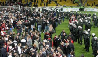 DFB-Sportgericht verhandelt Fall Eintracht Frankfurt (Foto)