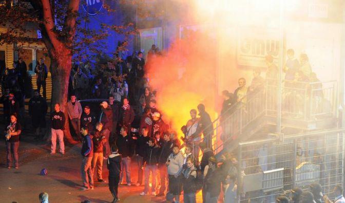 DFB-Sportgericht verurteilt KSC zu «Geisterspiel» (Foto)