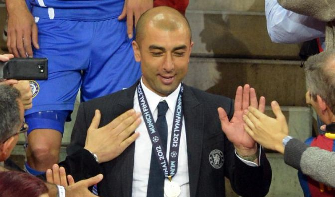 Di Matteo und Drogba lassen Zukunft bei Chelsea offen (Foto)