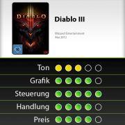 Diablo III in der Bewertung von news.de.