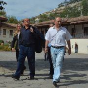 Wein-Party vom Feinsten: Sie bechern Krim-Wein für 100.000 Dollar (Foto)