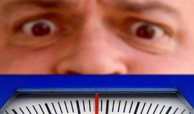 Dicke Männer mit Geld eher mit Gewicht unzufrieden (Foto)