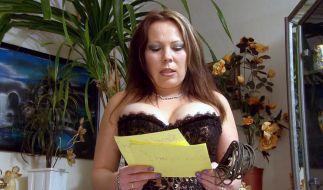 Die 32-jährige Claudia arbeitet als Domina und Fetisch-Model. (Foto)