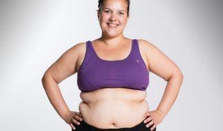 Die 33-jährige Erzieherin Alexandra sagt ihren 103,4 Kilo nun den Kampf an. Sie möchte endlich aus ihrer Kartoffelsackmode raus. (Foto)