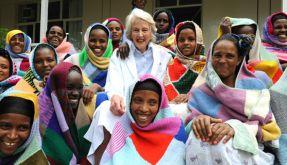 Die 85-jährige Gynäkologin Catherine Hamlin behandelt äthiopische Frauen. (Foto)