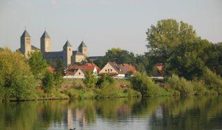 Die Abtei Münsterschwarzach. (Foto)