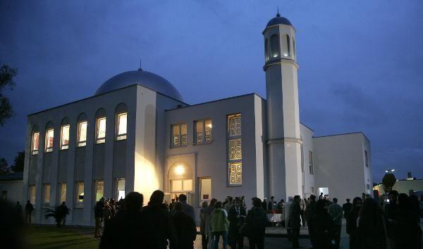 Die Ahmadiyya-Moschee ist die erste im Osten Berlins. (Foto)