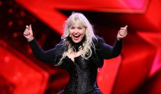 Die Albanerin Alkeda Paskali (48) lebt heute in Ludwigsburg. Die Gastronomin will die Supertalent-Jury mit ihrer Comedy-Nummer erobern. (Foto)