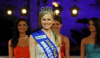 Die russische Architektin Natalia Prokopenko wird «Miss EM 2012». (Foto)