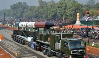Die Atommacht Indien testet erstmals eine Interkontinentalrakete. (Foto)