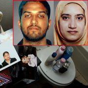Die Terroristen von San Bernardino, Hausdurchsuchung live im TV (Foto)