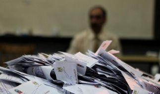 Die Auszählung aller Stimmzettel ist voraussichtlich erst am Mittwoch abgeschlossen. (Foto)